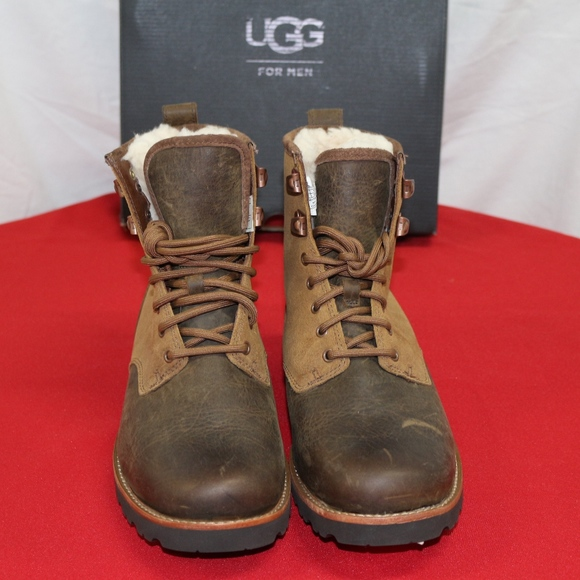 9dc712ebfb7 Ugg Hannen TL Dark Chestnut Winter Weather Boot NWT